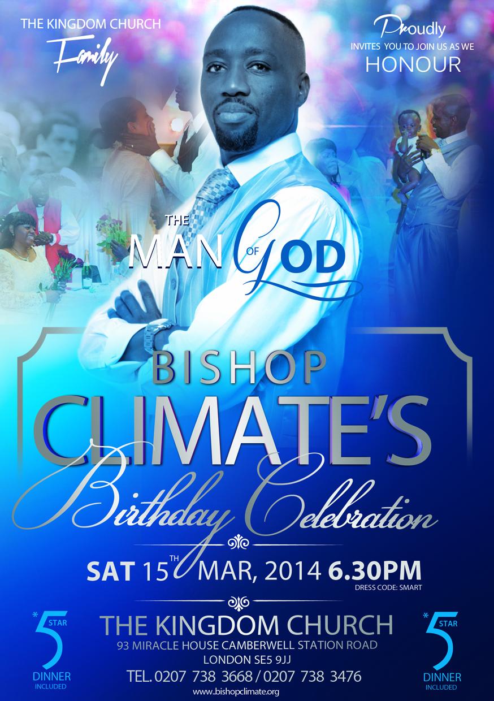 Bishop's Birthday