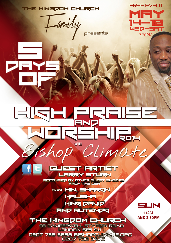 HIGH PRAISE & WORSHIP'14 (PRINT COPY)