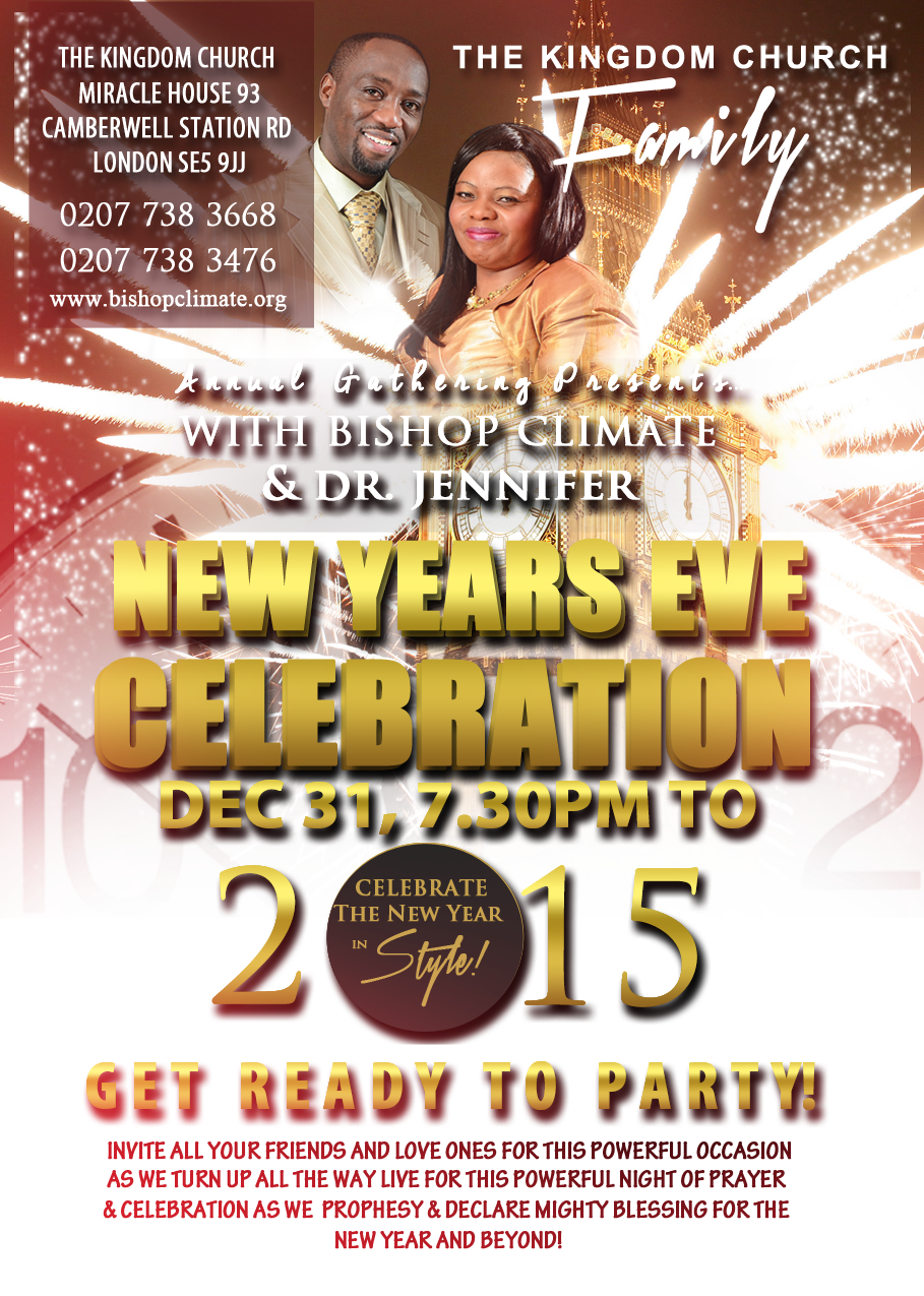 A5 NEW EVE CELEBRATION (LDN 2015 )