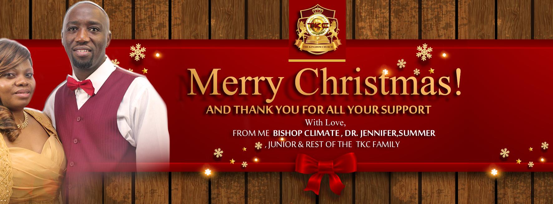 Merry Christmas TKC