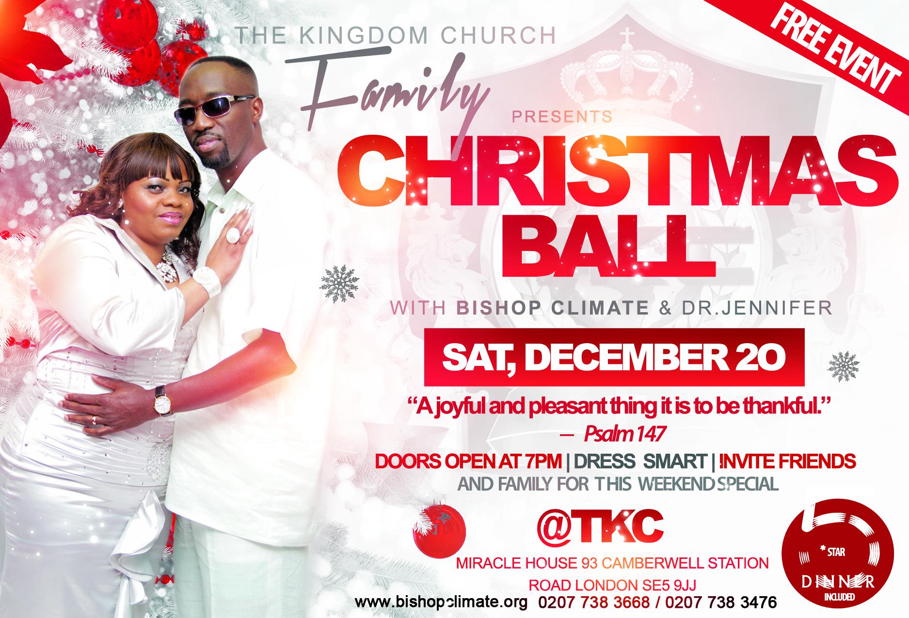 TKC Christmas Ball 2014