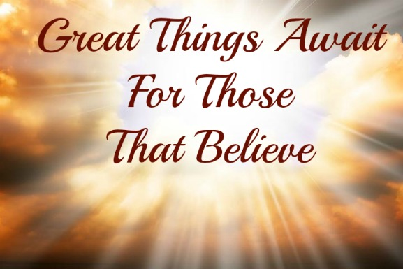 Anointing Of Great Things