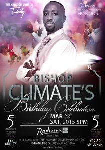 Bishop's Birthday Celebration 2015