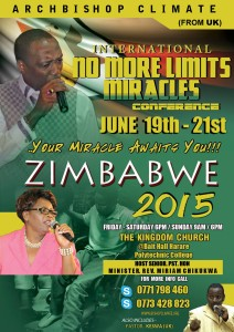 Zimbabwe No More Limits 2015