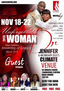 Unforgettable Woman Conference 2015