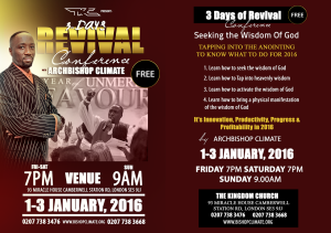TKC 3DAY REVIVAL 2016