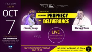 ALL NIGHT PROPHECY AND DELIVERANCE