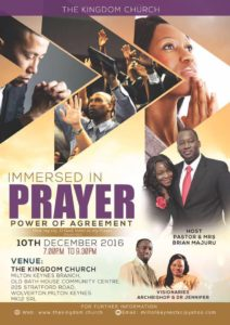 Immersed In Prayer