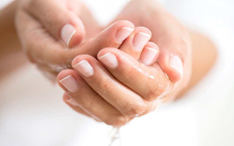 washing and anointing Of The Hands